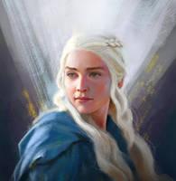Daenerys Targaryen by YueQing