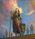Joan-of-Arc by YueQing