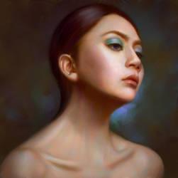 Portrait of Khanh Han Duong by YueQing