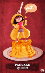 Pancakes queen by GeraGinny