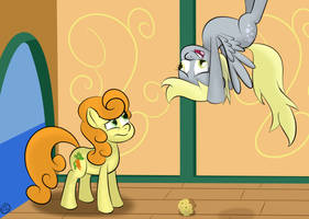 Help! I Dropped My Muffin! by Terra-Aquis