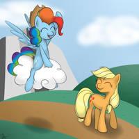 Ride 'em cowpony! by Terra-Aquis