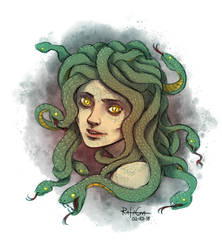 Medusa by Lord-Leafar