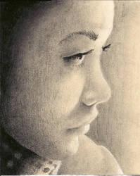 Charcoal Woman by Ellunas