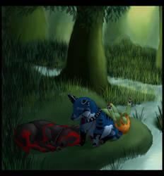 Rest After Play by Ellunas