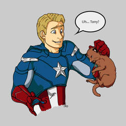 Uh... Tony? by Ellunas