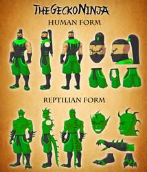 New Gecko Reference Sheet by TheGeckoNinja