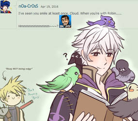 Ask SSB4: Cloud and Robin Question #141 by The-Star-Hunter