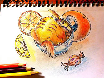 Orange mood :D by Chestersan