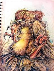 Shy Nestling by Chestersan