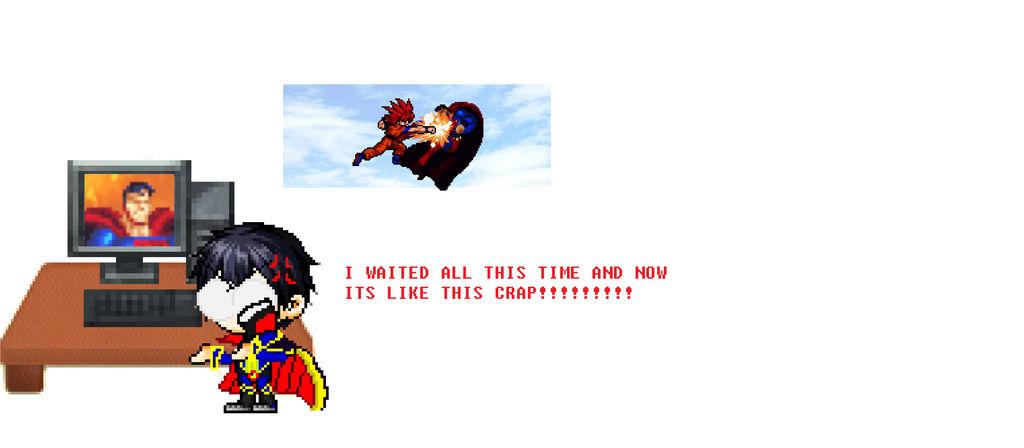When I Finally Reacted To Goku Vs Superman 2 I Wo By Mattplaysvg On