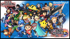 Super Smash Bros. Ultimate - SSB4 All-Stars by MattPlaysVG