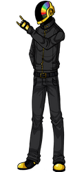 Daft Punk : Guy-Manuel by metal-marty