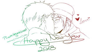 Happy New SouRin Year 2018 [WIP] by PirateHeartbeat