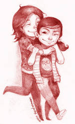 Birthday Hug by lorain05
