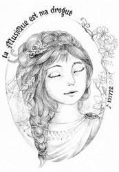 La Musique est ma Drogue by lorain05