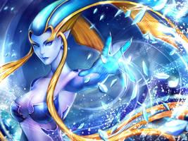 Shiva - Diamond Dust by Midorisa