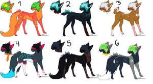 Scene dog adopts GONE by Wolfshowl152