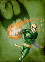 Iron Fist by Jeff-Drylewicz