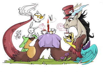 Tea Party by SoraNoRyu