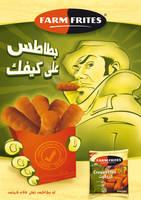 Farmfrites ad: gang by marwael