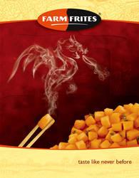 Farmfrites: Dragon ad by marwael
