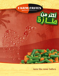 Farmfrites: Camel ad by marwael
