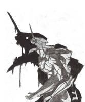 Eva Unit 01 Scary... by Hum4n01dTyph00n