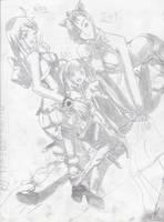 Pencil Art_3 by xRedhawkAcex