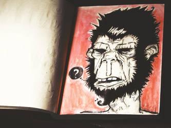 Monkey man by JAYisCHINESE