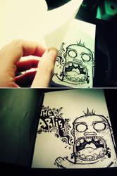 Flip The Artist by JAYisCHINESE