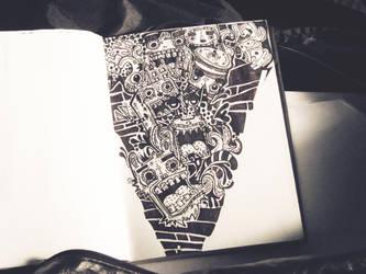 Moleskin Monsters by JAYisCHINESE