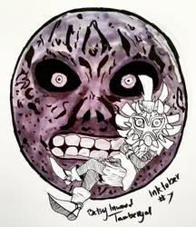 Inktober 2017 Day Seven - LoZ Majora's Mask by Tambergal