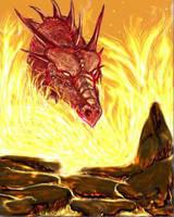 Firey Dweller by Allaeysis