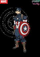 Captain America by Kyle-A-McDonald