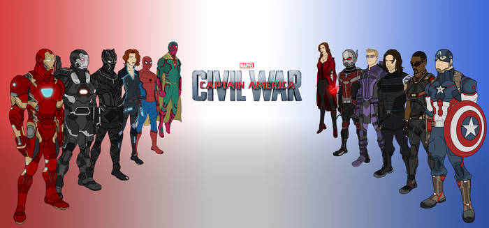 Civil War by Kyle-A-McDonald