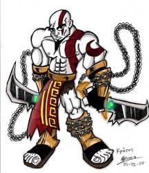 Kratos by SuperManosBros