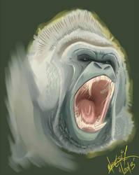 ''Gorilla Scream'' by SuperManosBros