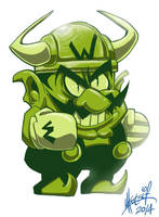 Bull Wario by SuperManosBros