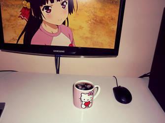 Hello Kitty mug by scope66