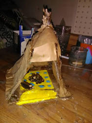 my TePi house part one  by Hellrazer544