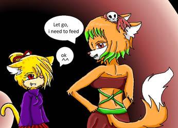 Mea and Lulu by Hellrazer544