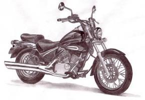 Motorcycle by boblekylling