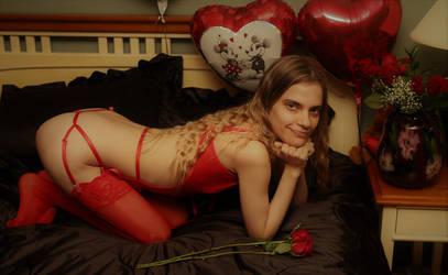 Emmi's Valentine's Day by BlackArrowPhotos