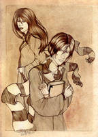 Severus and Lily by Kaede--kun