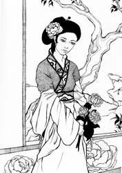 Chinese girl by Kaede--kun