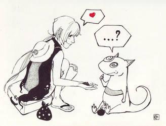 meeting by Kaede--kun