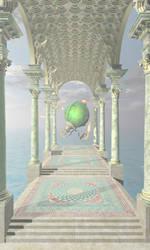 Corridor of the Imagination by Asdaricus