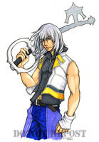 Kingdom Hearts II - Riku by okori