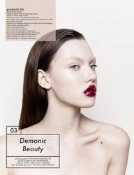 Demonic Beauty by tatianakurnosova